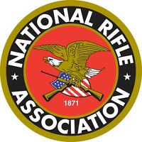 "National Rifle Association NRA Color Vinyl Decal Sticker - You Choose Size 2""-28"