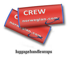 Norwegian Air Shuttle-Crew Handle Wraps x2
