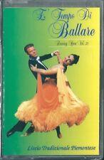 E Tempo di Ballare Vol.20 (1997) Musicassetta NUOVA Liscio Tradizional Piemontes