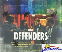 2018 Upper Deck Marvel The Defenders HUGE Sealed HOBBY Box-2 AUTO/SKETCH/PATCH