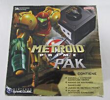Metroid Prime Pak (Nintendo GameCube, NGC) Consola Edición Especial - Completa