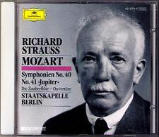 Richard STRAUSS Conducts MOZART Symphony No.40 & 41 CD Staatskapelle Berlin
