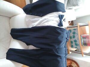 Anzug für Kinder (Weste, Hemd und Hose) für Taufe oder Hochzeit