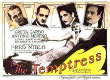 The Temptress - 1926 - Greta Garbo Lionel Barrymore - Silent b/w Film Drama DVD