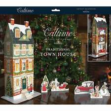 Traditional Town House Advent Calendar