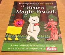 BEAR'S MAGIC PENCIL Anthony Brown And Friends Book (Paperback) NEW