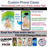 Custom Phone Case Cover Personalized Photo image logo gift fits LG G6
