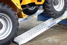 2x Rampe de chargement : 4 m, 10 000 kg/paire, Alu rampes, Rails de chargement