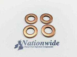Ford Focus 1.8 TDCi Common Rail Diesel Injector Washers seals x 4