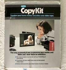 Sima Copykit Copy Kit Transfer Film Movies & Slides to Video Tape