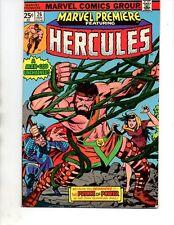 Marvel Premiere #26 HERCULES- 1975-VF