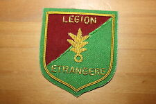 FRENCH ARMY FOREIGN LEGION WIRE POCKET BADGE BULLION WIRE LEGION ETRANGERE