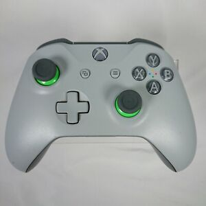 Microsoft Xbox One Controller Wireless - Model 1708 - Grey/Green Special Edition