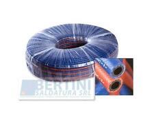 TUBO BINATO ROSSO-BLU OSSIGENO-ACETILENE 6,3X13,30 ( 5 MT DI TUBO )