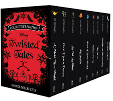 NEW Disney Twisted Tales 9 Books Collection Collector's Edition Novels Gift Set!