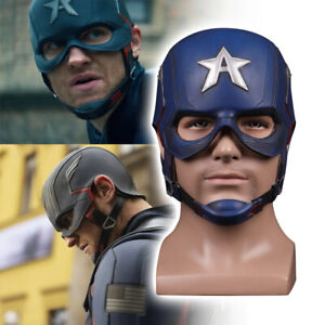 The Falcon and Winter Soldier Mask Cosplay Captain America  Superhero Helmet