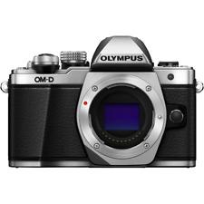 Olympus OM-D E-M10 Mark II Digital Camera Body - Silver