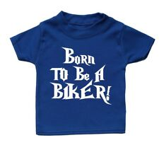 Born To Be A Biker Cute Baby T Shirt Funky Cool Present Adorable Gift Girl Boy
