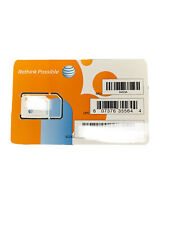 At&T Postpaid Sim Cards 4G/3G/2G Lte Ready To Activate New Lot of 50