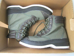 Orvis Clearwater Wading Men's Boots Shoes 12M Felt Sole Olive NEW WITH TAGS