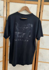 Vintage 90s New York Times T Shirt Faded Black Distressed Fits L