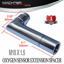O2 oxygen sensor  extender spacer 90 degree angled 02 bung extension M18 X 1.5