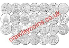 🔥CHEAP 2018 - 2019 UK 10p TEN PENCE A-Z ALPHABET COINS NHS LOCHNESS ANGEL BOND