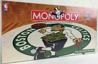 USAOpoly Monopoly Monopoly - Boston Celtics Collector's Ed SW