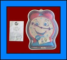 NEW!!!  Wilton ***GOOD TIME CLOCK*** Cake Pan COMPLETE!! HTF #9111