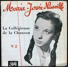MARIE-JOSEE NEUVILLE La Collégienne de la chanson Son 2ème 25CM PATHE AT 1083