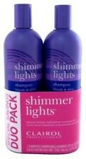 Clairol Shimmer Lights Blonde & Silver Professional Enhancing Shampoo DUO PACK