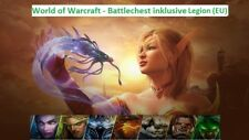 World of Warcraft WoW Battlechest inc. Legion + 30 Tage Gametime Key Code EU
