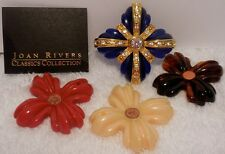 JOAN RIVERS CLASSICS COLLECTION ~Interchangeable Maltese Cross Pin~ 4 COLORS