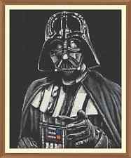 Star Wars Darth Vader 0 CROSS STITCH CHART ONLY 9.7 x 12.0 Inches