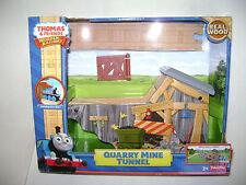 Fisher-Price Thomas Friends Train Tracks Wood Wooden Railway Quarry Mine Tunnel