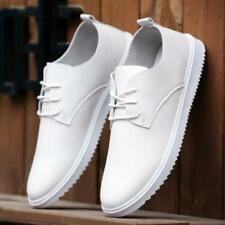 hot Mens Loafer Sneaker Casual Breathable Dress Lace Up Business Leather Shoes