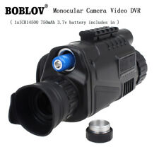 1x Monocular Night Vision Scope Video DVR Photo 5x40 Zoom IR Infrared + 8GB Card