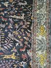 9 x 12 VINTAGE DESIGN TREE of LIFE CAUCASIAN SERAPI HERIZ ANTIQUE OUSHAK KAZAK