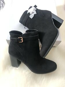 Lauren Conrad Booties Black Size 8.5 New