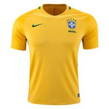 Nike Men's 2016/2017 Brazil Stadium Home Jersey