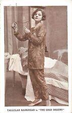 "Tallulah Bankhead ""GOLD DIGGERS"" Ian Hunter / Fred Kerr 1926 London Postcard"