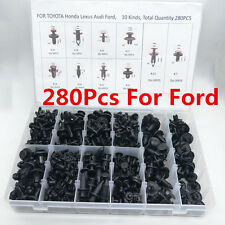 280X Mixed Special Car Fender Bumper Nylon rivet fixed Clip Fastener w/ box FORD