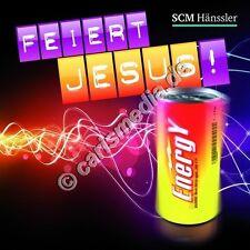 CD: FEIERT JESUS! ENERGY *NEU* - Lobpreis - Anbetung - Worship