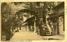 Riverside,CA. Arcade and Arch in the Glenwood Mission Inn 1935