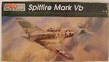 U.K. Supermarine Spitfire Vb, 1/72 Model Airplane Kit