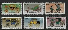 East Germany 1976 Horse-drawn Vehicles MNH Set