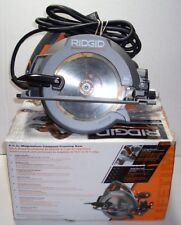 RIDGID 6 1/2' MAGNESIUM COMPACT FRAMING SAW w  BLADE & ALLEN WRENCH R3204 BOX