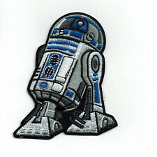 "3"" Star Wars R2D2 Embroidered Iron On Patch  Full embroidery patches"