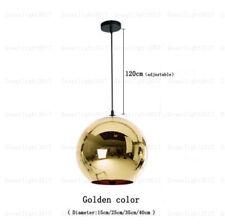 Modern Art Glass Ball Lamp Pendant Light Mirror Chandelier For Bar Cafe Club UK