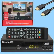 H.265 Terrestrischer Digital Receiver FTA für Öffentlich Rechtliche Sender HDTV
